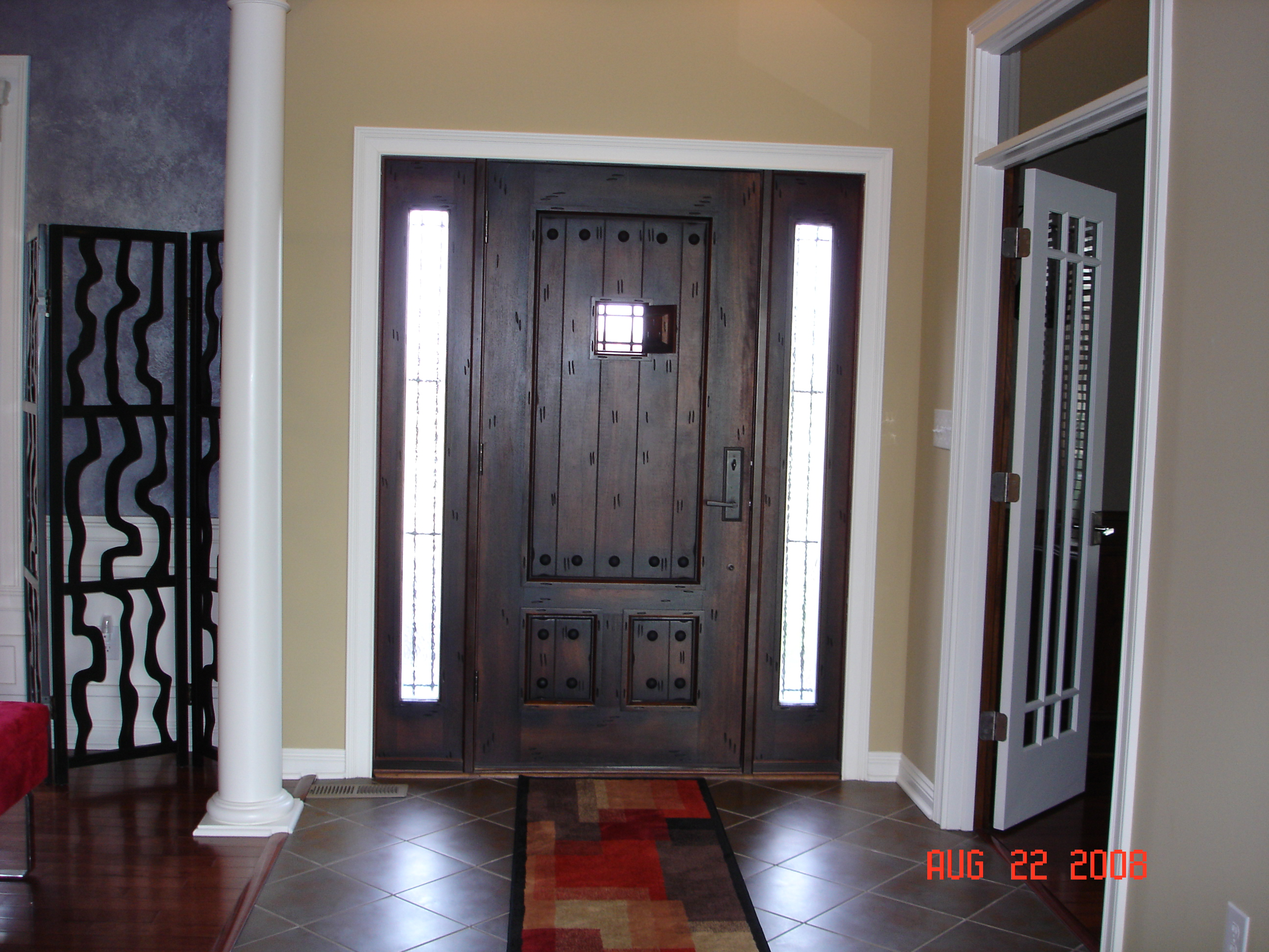 Show us your life entry ways foyers for Front foyer design ideas
