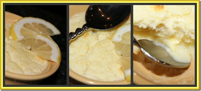 Lemon pudding 1