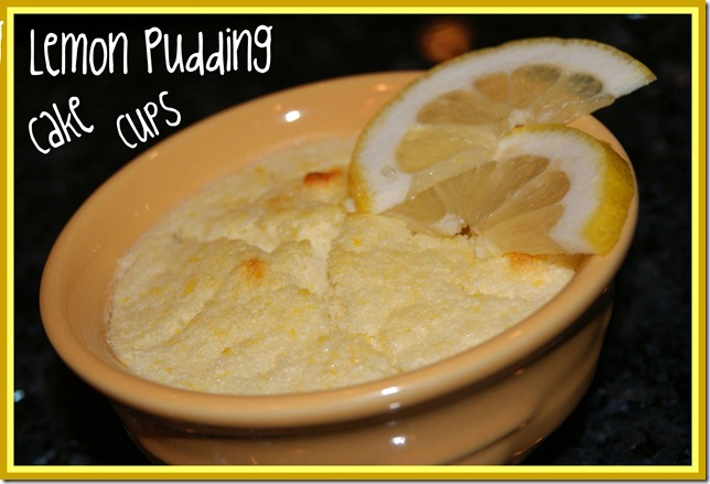 Lemon pudding