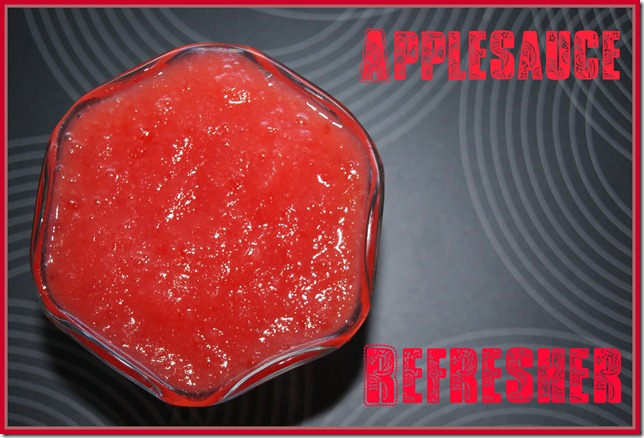 applesauce refresher
