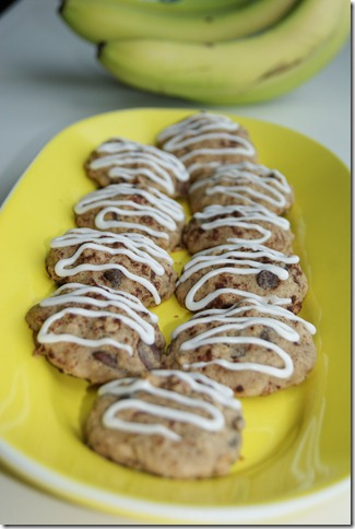 Chocolate Chip Banana Bread Cookies 023