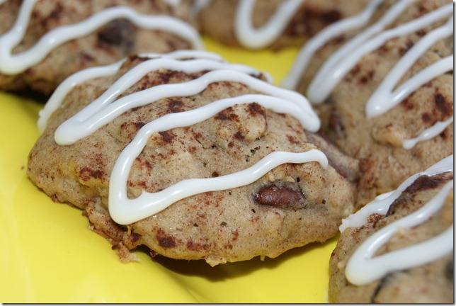 Chocolate Chip Banana Bread Cookies 026