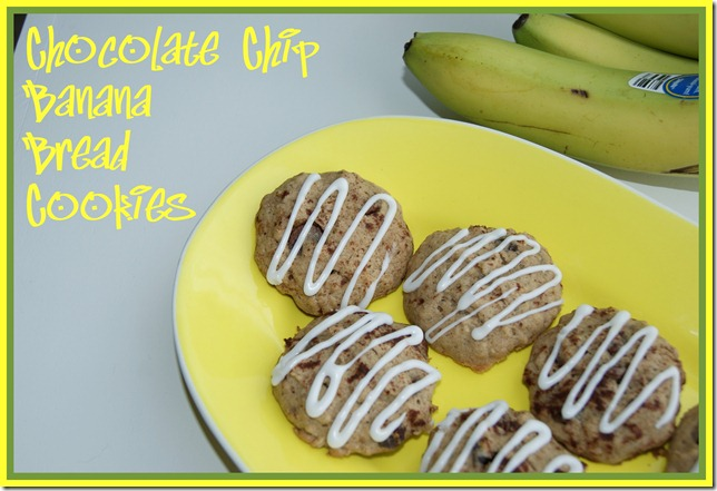 Chocolate Chip Banana Bread Cookies 50