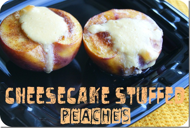 Cheesecake peaches 60