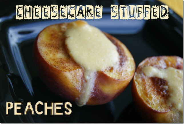 Cheesecake peaches 61