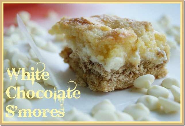 White Chocolate S'mores
